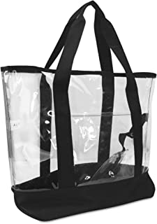 DALIX womens ST-034-Clear St-034-clear Large
