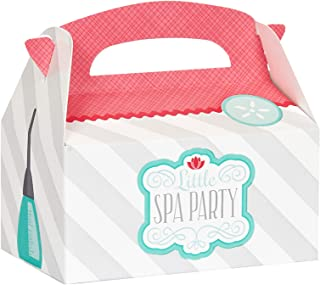 BirthdayExpress Little Spa Salon Makeover Party Supplies - Empty Favor Boxes (4)