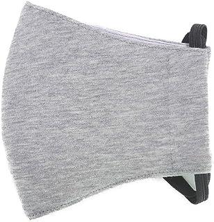 洗える コットンマスク ファッション 裏ガーゼ 洗濯可 綿 グレー18番