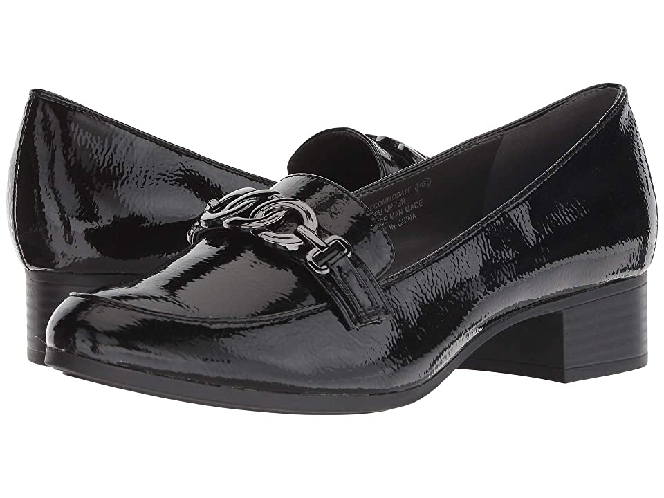 Image of A2 by Aerosoles Accommodate (Black Patent) Women's Slip on Shoes