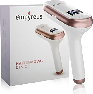 Permanent Hair Removal Device For Men And Women With Fast, Safe And Painless Professional Results At Home. Simple And Easy...