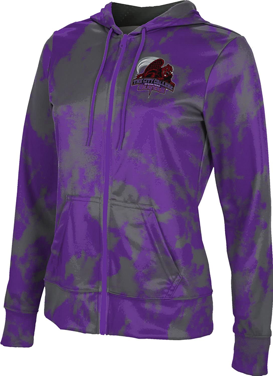 City College of New York Women's Hoodie Sw Zipper Free shipping At the price of surprise anywhere in the nation Spirit School