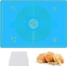 Haozcl حصائر خبز المعجنات المصنوعة من السيليكون كبيرة الحجم بمقاسات 63.5 سم × 45.7 سم، غير قابلة للالتصاق ولا تنزلق، أدوات...