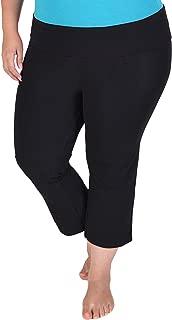 Stretch is Comfort Women's Plus Size Capri Yoga Pants
