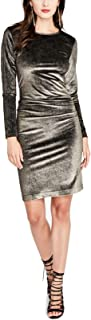 Womens Velvet Bodycon Dress