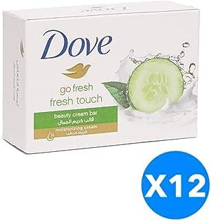 Dove Soap Bar - Fresh Touch - (135g x 12)