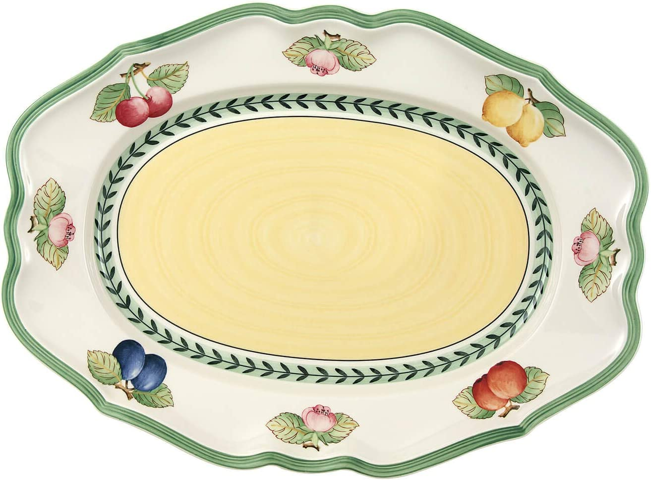 Villeroy Boch French Garden Fleurence 14.5 Platter Don't miss the campaign Oval Max 45% OFF W in
