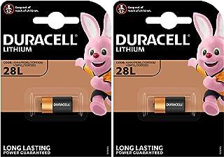 Duracell 2CR11108 2er Pack Lithium Batterie (V 28 PXL) 2 CR 1/3 N, PX 28, 6231