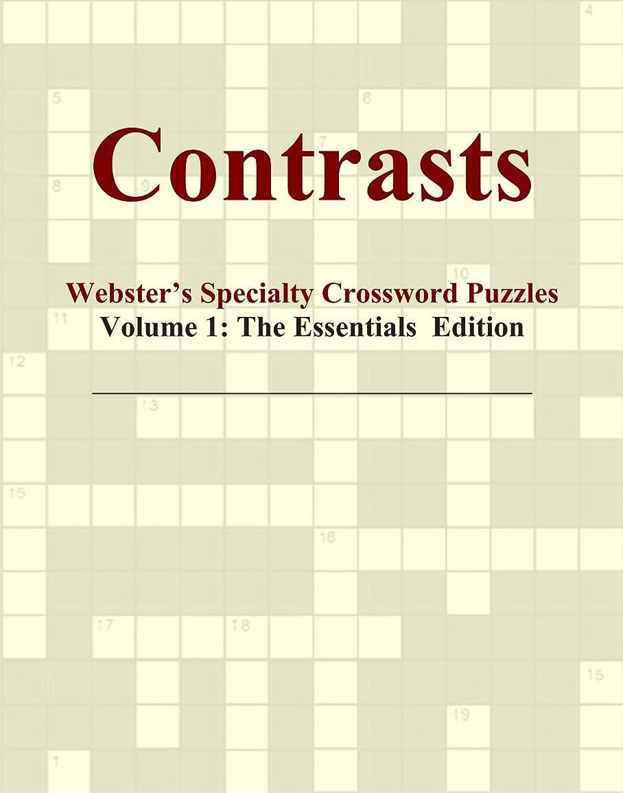 ビール大佐ランドリーContrasts - Webster's Specialty Crossword Puzzles, Volume 1: The Essentials Edition