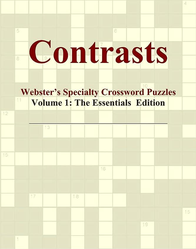 オーバーラン分解するメモContrasts - Webster's Specialty Crossword Puzzles, Volume 1: The Essentials Edition