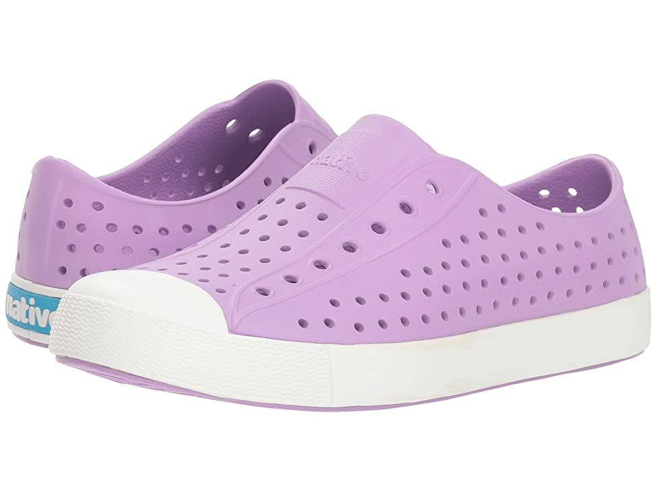 Native Kids Shoes Jefferson (Big Kid/Little Kid) (Lavender Purple/Shell White) Girls Shoes