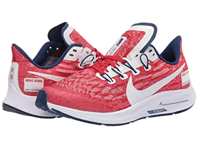 Nike Kids Air Zoom Pegasus 36 (Big Kid) (University Red/Multicolor/White) Kids Shoes