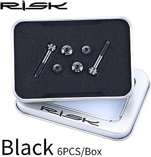 チタン合金 スクリューキット GX/Eagle / X9 / X01 / X01Eagle / XX1用, (Color : Black)