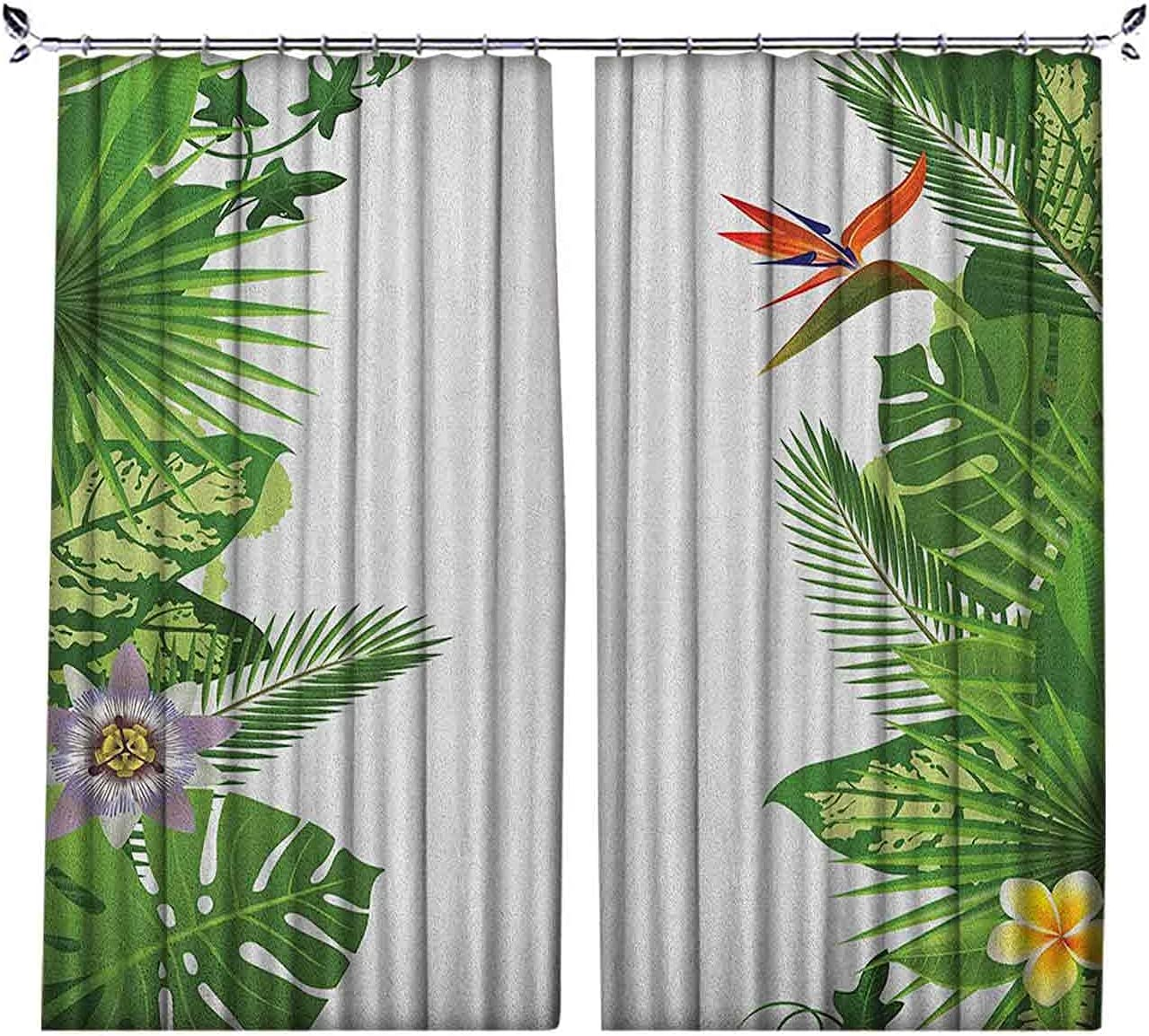 90% Blackout Tropical Curtains Time sale trust Growth with Hawaii Rainforest of