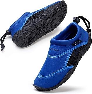 HKR Kids Boys Girls Water Shoes Quick Dry Aqua Wetsuit Socks for Beach Swim Pool