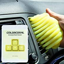 ColorCoral Keyboard Cleaner Universal Dust Cleaning Kit Car Cleaning Gadget Electronic Dust Cleaning Slime Putty Detailing Jelly Dust Remover (4Pack)