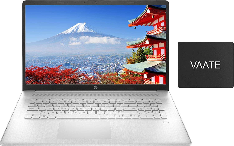 2021 HP 17 Laptop, Newest AMD Ryzen 5 5500U(Beat i7-1065G7) 16GB RAM 512GB SSD, 17.3
