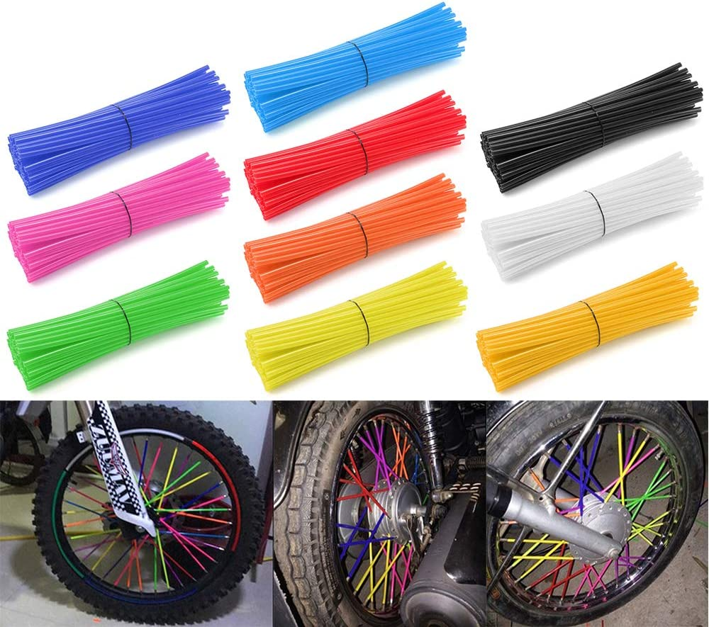 72 Pcs Motorcycle specialty shop Spoke Great interest Skins Covers For YAMAHA YZ80 Coats YZ65