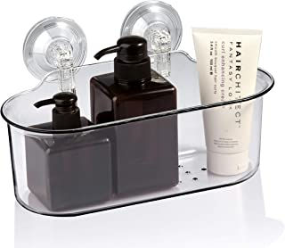 iHomeYc Bath Accessories Shower Caddy with Suction Cups, Strong Adheres Quick, Easy Installation, No Need to Drill or Glue, No Drilling Shampoo Conditioner Holder, Bath Organizer.