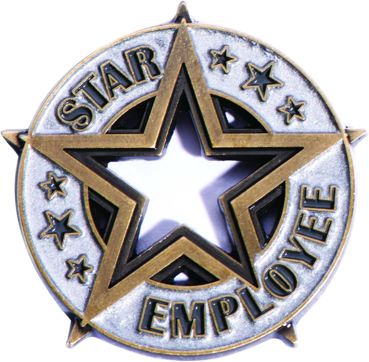 TCDesignerProducts Star Employee Appreciation Award Lapel Pin