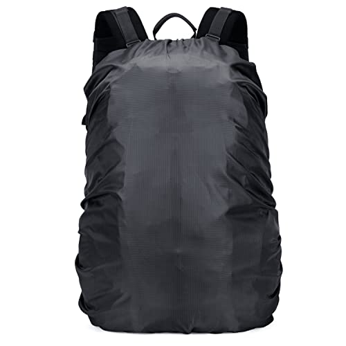 OMERIL Backpack Raincover Waterproof Rucksack Bag Rain Cover for School  Hiking Camping Traveling Cycling   fd9532f185