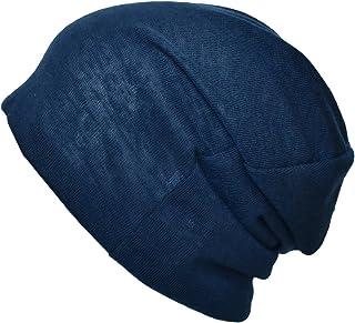 [TARO WORKS] 無地 ロールアップワッチ ニット帽 ビーニー オールシーズン Unisex
