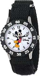 Disney Boys' Mickey Mouse Black Time Teacher Watch