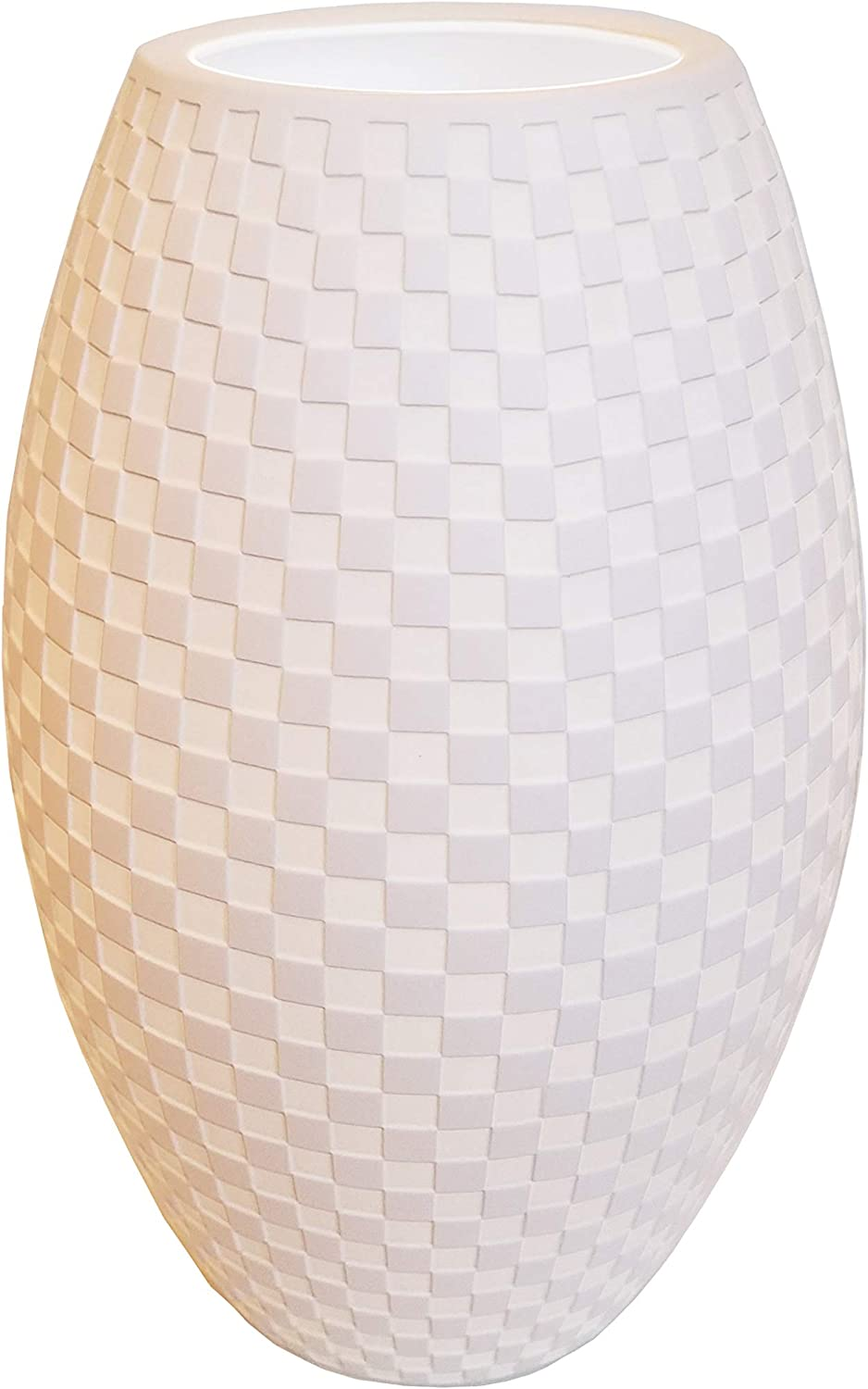 Justice Design Limoges Tall Egg Accent Lamp Max 50% OFF Checkerboard wholesale