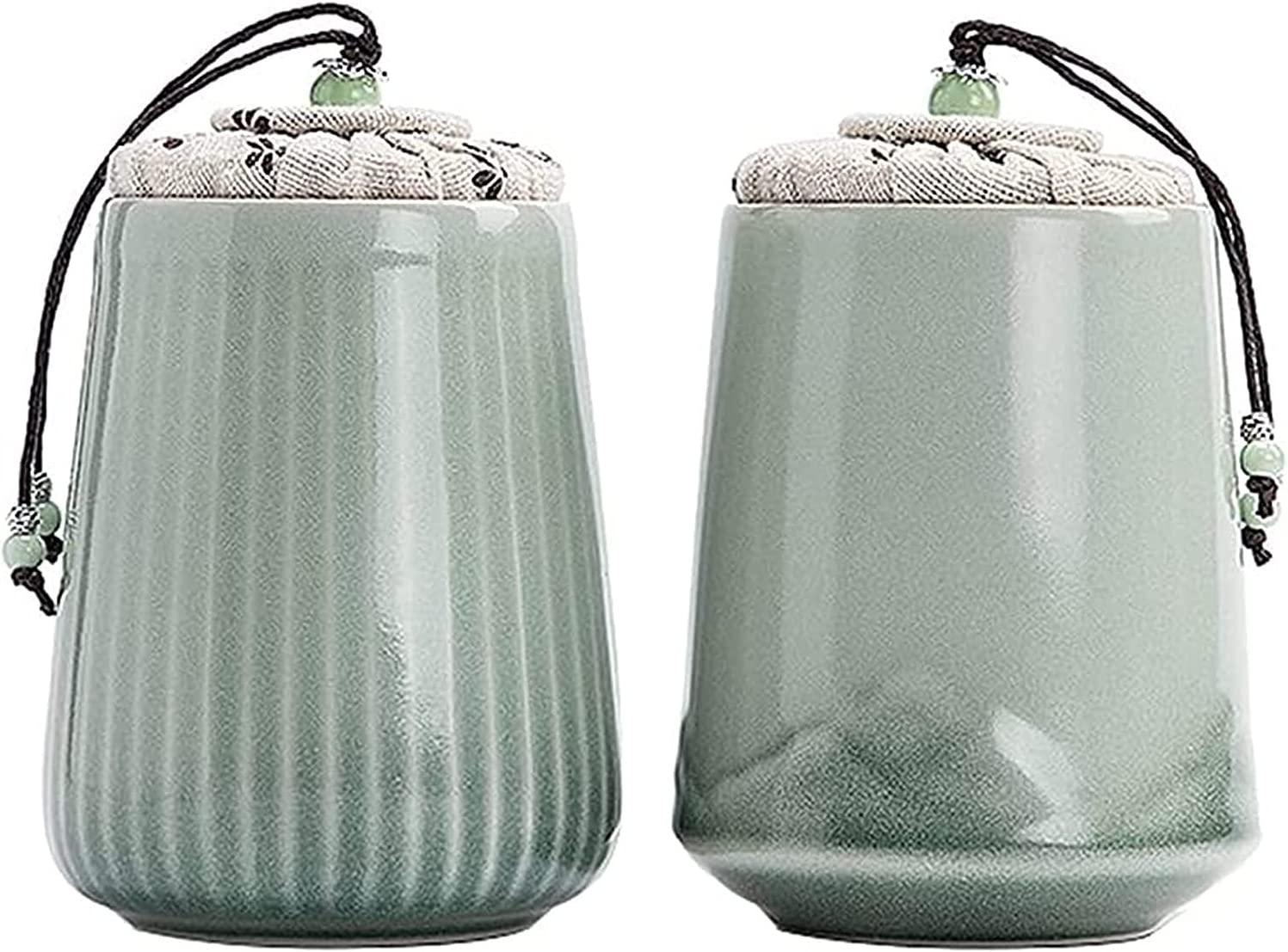GDLQ Easy-to-use Outlet sale feature Porcelain Tea Can Ceramic Food Ki Storage Tank