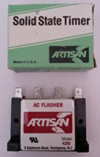 Artisan Solid State Timer 4210-115-60, 60 FPM, 115VAC-1amp