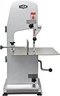 KWS B-210 Countertop Model Commercial 1900W 2.5HP Electric Meat Band Saw Bone Saw Machine/Slicer Heavy-Duty