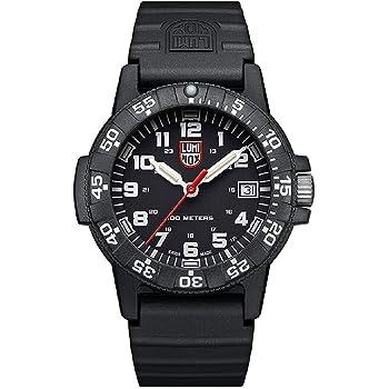 [ルミノックス]LUMINOX 腕時計 レザーバック シータートル 0300シリーズ オールブラック 301 メンズ [並行輸入品]