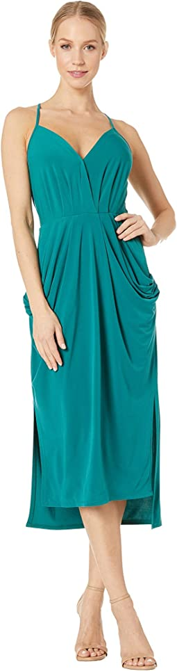 12c3f3a45f523 Bcbgmaxazria tara high low maxi dress orient blue | Shipped Free at ...