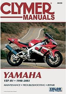 1998-2003 Yamaha YZF-R1 CLYMER MANUAL YAMAHA YZF-R1 1998-2003, Manufacturer: CLYMER, Manufacturer Part Number: M398-AD, Stock Photo - Actual parts may vary.