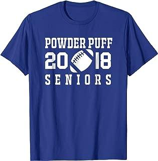 Football Powder Puff 2018 seniors T-shirt