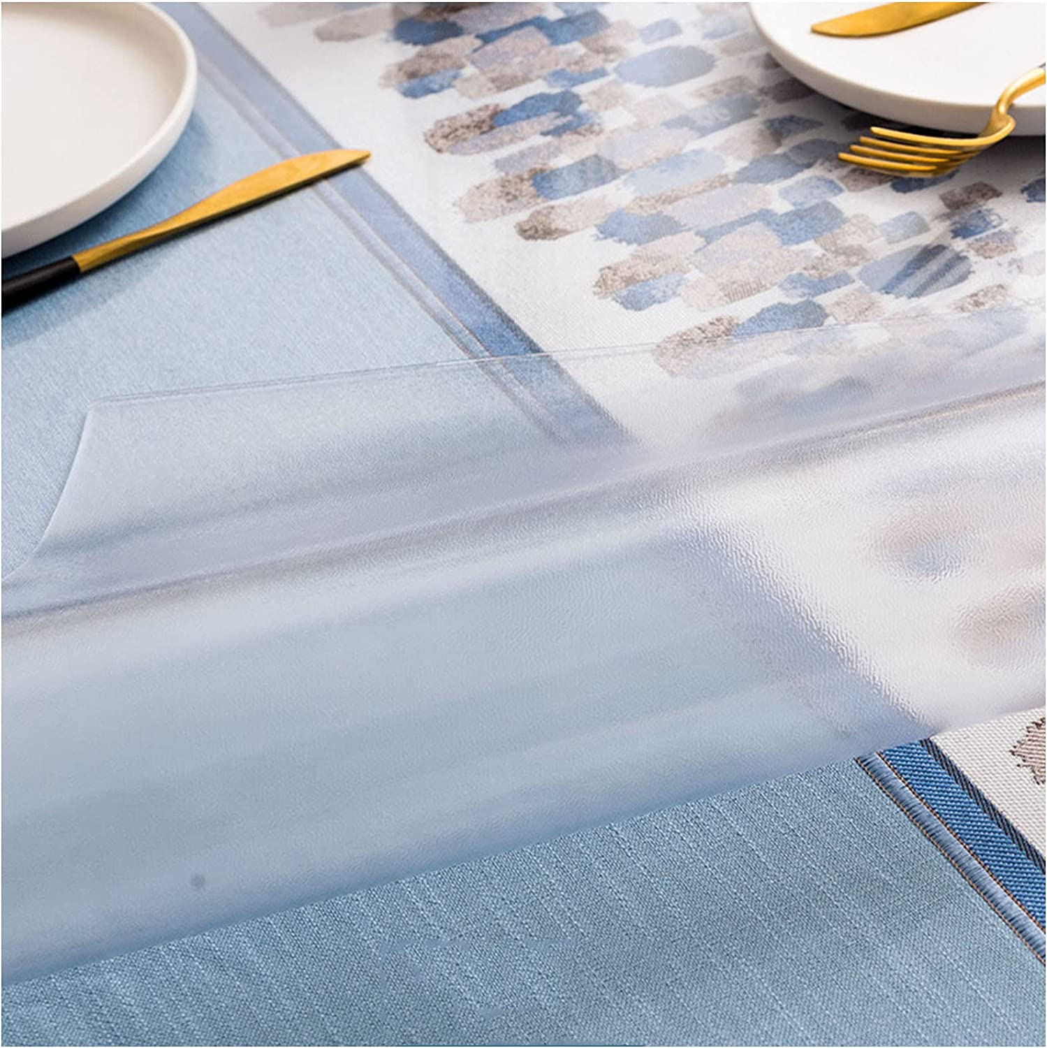 Eco-Friendly Clear Table Protector Film Indianapolis Mall 2Mm T Non-Slip Be super welcome Thickness