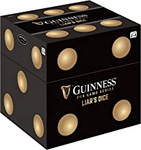 Front Porch Classics Guinness Pub Games Series Liar's Dice, Traditional Pub Dice Game Officially Licensed by The Makers of...