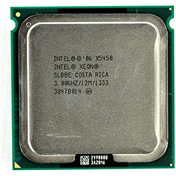 Yes 4 Core Intel Xeon X5470 Quad-core 120 W SLBBF 1333 MHz Bus Speed 3.33 GHz Processor 45 nm 1.4 V DC Socket J LGA-771-12 MB 95 W