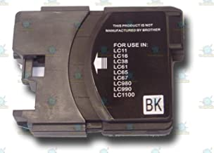 The Ink Squid 1 High-Capacity LC980Bk/LC1100Bk Black Compatible Ink Cartridge for Brother MFC-290C Printer