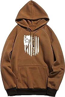 WearIndia Unisex Veteran Printed Cotton Hoodies Sweatshirt for Men and Women
