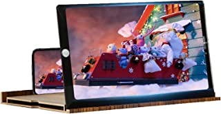 12 Inch Phone Screen Magnifier, 3d Phone Screen Amplifier Horizontal And Vertical Screen Ultra HD Cell Phone Projector For...