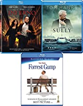 Robert Langdon, Sully & Forrest Gump - Actor Tom Hanks 3-Movie Collection Sully Blu Ray The Inferno & Forrest Gump Bundle Set
