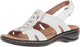 61ccbd94978dbf Amazon.com  CLARKS - White   Sandals   Shoes  Clothing