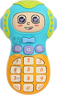 SaleOn Electronic Toy Phone Kid Mobile Phone Cellphone Telephone Educational Learning Toys Face Change Entertainment for K...