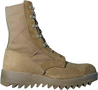 McRae FootWear Men's Hot Weather Coyote Ripple Sole Combat Boot 8188 (8.5W)
