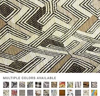 eLuxurySupply Fabric by The Yard - 100% Polyester Upholstery Sewing Fabrics - Nzuri Zebra Pattern