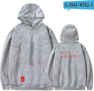 BTS Love Yourself Answer Hoodies BTS World Tour Hoodies Women Print Kpop Long Sleeve Sweatshirts