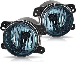 Fog Lights For Chrysler 300 Chrysler 300 3.5L Touring 2005-2010 PT Cruiser 2006-2009 Dodge Magnum 2005-2008 Journey 2009-2010 Jeep Wrangler 2007-2011 (OE Style Smoke Lens w/Bulbs) ATFL012W