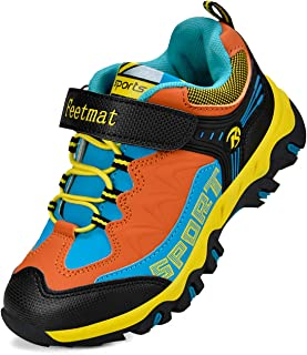 ZOCAVIA Kids Shoes Running Hiking Walking Shoes for Boys