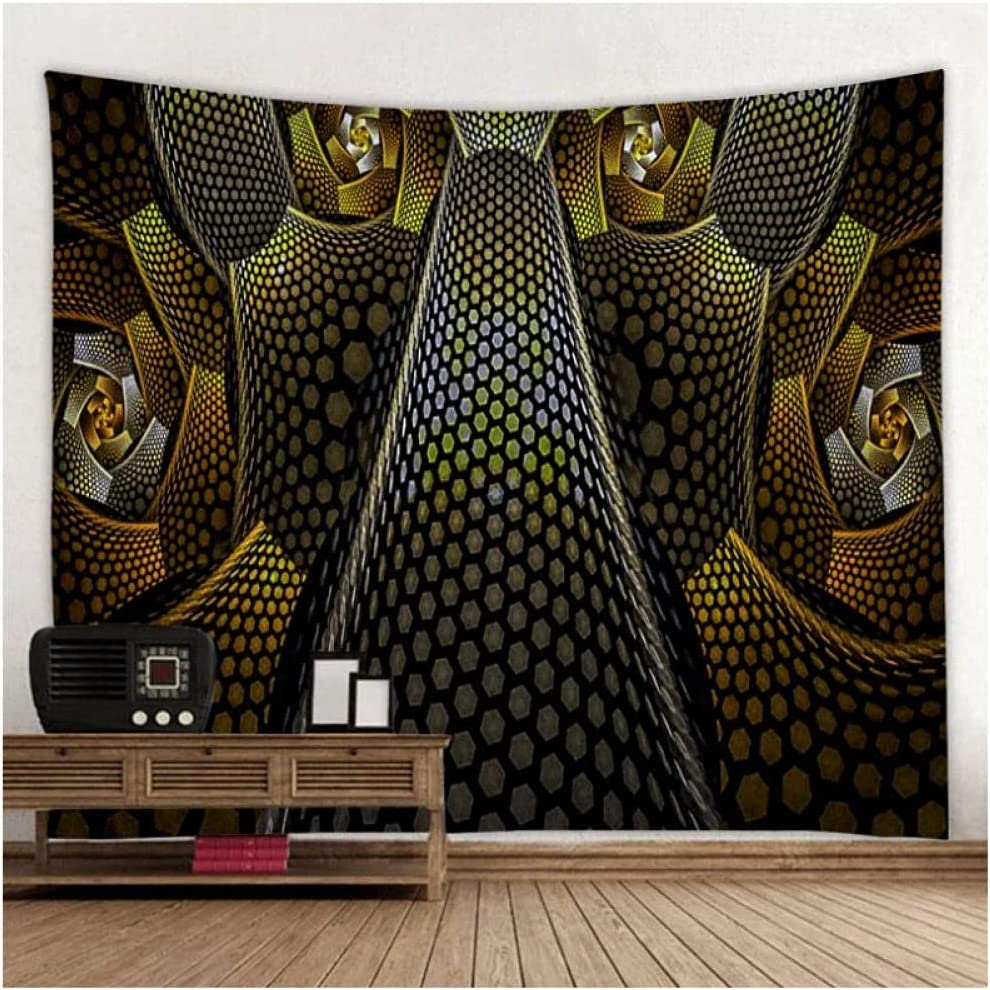 Tapestry by BD-Boombdl Geometric Mandala Texture Price reduction Wall Philadelphia Mall H